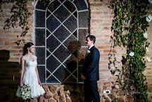 Cristiane <3 Rafael / Grace Kelly short wedding dress in chantilly lace https://www.facebook.com/www.amodista.com.br