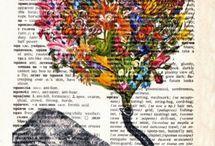 Illustration - Arbres et Fleurs