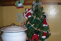 Christmas in the Laundry Room