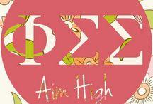 Phi Sigma Sigma / by Paige Raines