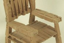clothes pin furniture