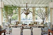Sunrooms / A Interior Design Project In Memphis, TN Has Noir Blanc Interiors Decorating  Sunrooms