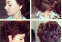 Curly Pixie Cuts