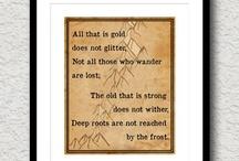 Hobbit poems