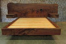 Custom Log Beds