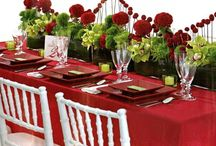 2016 Christmas Table Decor Ideas / This holiday season is the perfect time to show off your DIY skills as the most popular themes include crafty ornaments, classic textured patterns, Burlap accents, and natural linen tablecloths. Make your extended family and guests feel right at home with our table linens and designs.