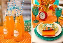 Orange & Blue Treats + Recipe Ideas!