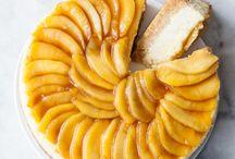 Cheesecakes aux pommes / Découvrez de nombreuses #recettes de #cheesecake aux pommes, un #dessert alliant onctuosité, douceur et saveurs !