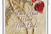 Where Your Heart Meets God's / Does your life feel incomplete? Find the answer meant for you. Where Your Heart Meets God's, available from MillerWords. http://mwbooks.me/HeartPaper