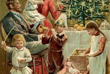 Victorian Greeting Card Christmas Tree