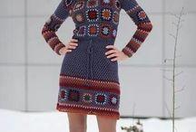 Вязанная одежда :)