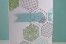 stampin' up six sided sampler