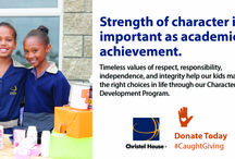 Become a Christel House donor today and get #CaughtGiving / Some things are handed down through generations.  A life of poverty shouldn't be one of them.  Christel House breaks the cycle of poverty by providing children with the education and skills they need to become self-sufficient, contributing members of society.