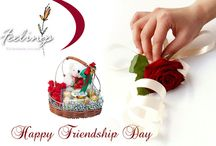 Happy Friendship Day 2014 / Celebrate this Friendship Day by sending beautiful gifts and Flowers Buy Now http://www.flowers4feelings.com/Friendship