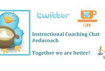 #educoach - A Collaborative Board for Instructional Coaches / This is a collaborative board for instructional coaches. #educoach is a Twitter community. We chat each Wed. at 9pm CST on Twitter and share & collaborate with the hashtag.