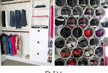Closets & DIY / Amazing closets and tips to organize your life