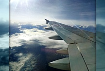 Earth and Clouds / I travel. And I love taking snaps at the window, looking at the clouds. Happiness. :)