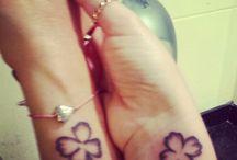 Tattoo / Klavertje 4