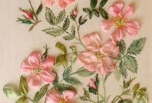Ribbon embroidery - others