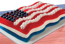 Red, White & Blue / Oh, say can you see our easy and patriotic JELL-O recipes?