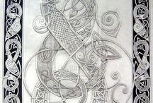 Dragon celtique
