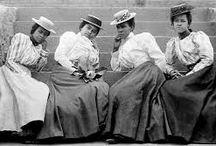 Boer War Girl: 1898-1900 Melisande's clothes.