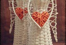 papír pletení