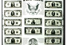 Currency Wall Decor Posters