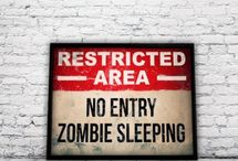 Aiden's zombie room