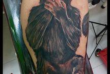 Tatuajes Φ ÁNGEL DE MAYO Φ / Tatuajes realizados por el artista Ángel de Mayo. Logia Barcelona.