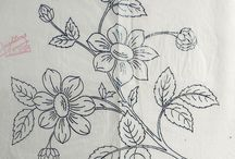 Embroidery - Flowers ~ garden / Embroidery