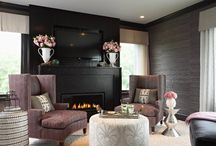 Black Interiors / by Christy Davis