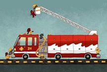 Fire Trucks / by Jill Turpin