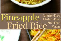 Gluten Free and Vegan Dinner Recipes (That Aren't Just Tofu) / Looking for gluten free and vegan dinners that are more than just salads and tofu? Then these gluten free and vegan dinner recipes are what you've been craving! From vegan cheese to fried rice to veggie burgers, these recipes will meet all of your dietary (and flavor) needs.