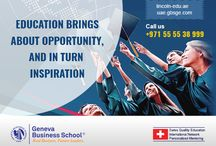 Now study with us visit our site https://lincoln-edu.ae, http://uae.gbsge.com