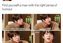 Jin's dad jokes