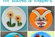 Kids food crafts