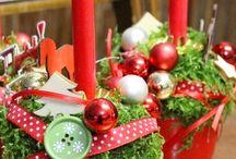 gesteck weihnachten
