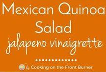 F L*quinoa recipes / low -Cal lunch ideas.