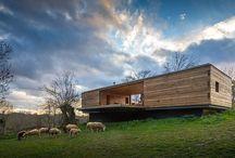 Wooden houses Ξύλινα σπίτια / Ξύλινα σπίτια