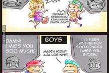 boys vs girls