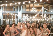 Champagne gold wedding