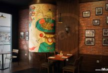Cafe & CoffeeShop Mural (Wall Painting)