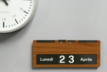 Time keeping. / Calendars and clocks we have or had.