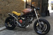 Cafe racer / Gotta have a brown seat