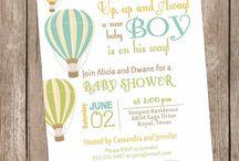 Hot Air Ballon Party Boy