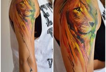Løvetatovering