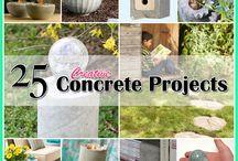 Creative Concrete Projects / by Andrea Cammarata