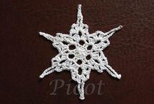 Ozdoby świąteczne Crochet Christmas