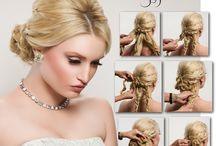 """Beautiful Hair / Award winning hair and makeup artist Sherri Jessee shares some of her favorite styles. Please """"like' and """"re-pin"""" the looks you love. For more info visit www.sherrijessee.com"""